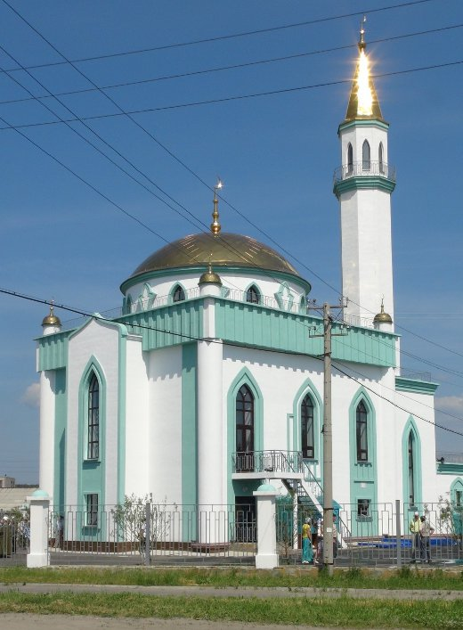 В Кыштыме открылась 33-метровая соборная мечеть   ОБЩЕСТВО   АиФ ...